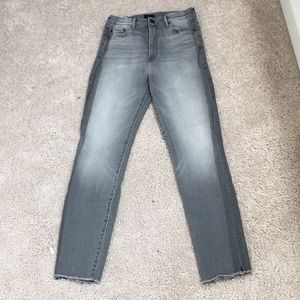 Mother The Swooner Supermoon Stripe Jeans